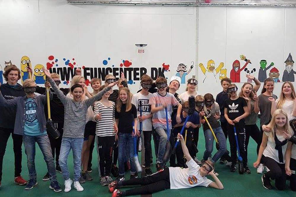 Blå Mandag med promille Hockey i Eventhal 1 i Aalborg