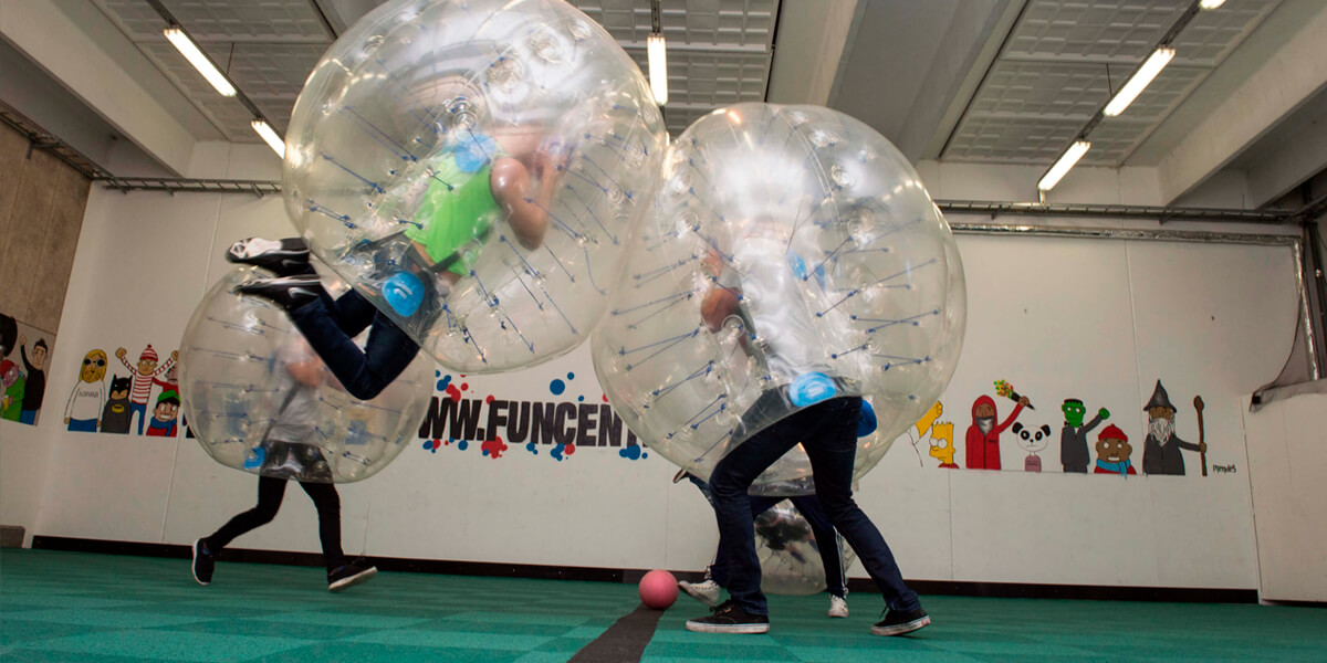 Bubble Soccer i Eventhal 1 FunCenter Aalborg