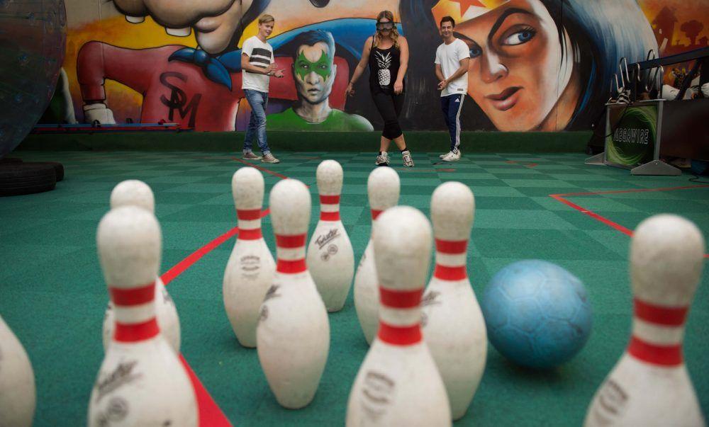 Fodbold Bowling i Eventhal 4