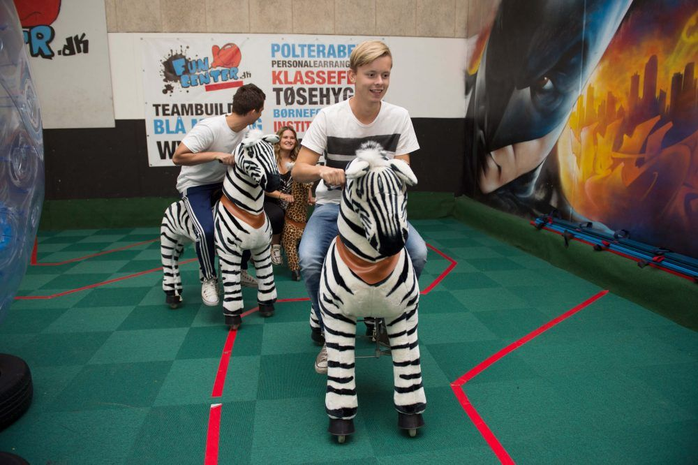 Fun Animal Race i Eventhal 4 hos FunCenter Aalborg