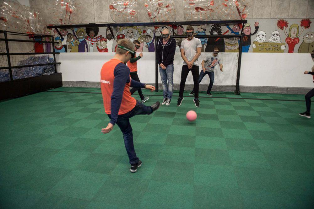 Promille Fodbold i eventhal 1 hos FunCenter i Aalborg