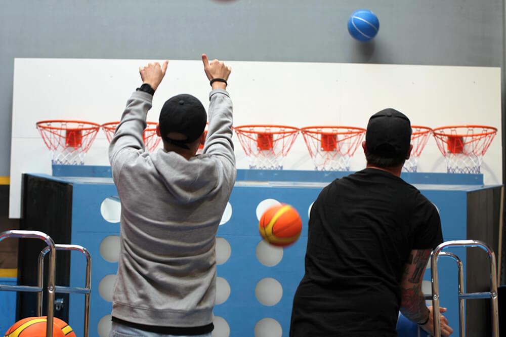 Basketbattle i vores eventhaller