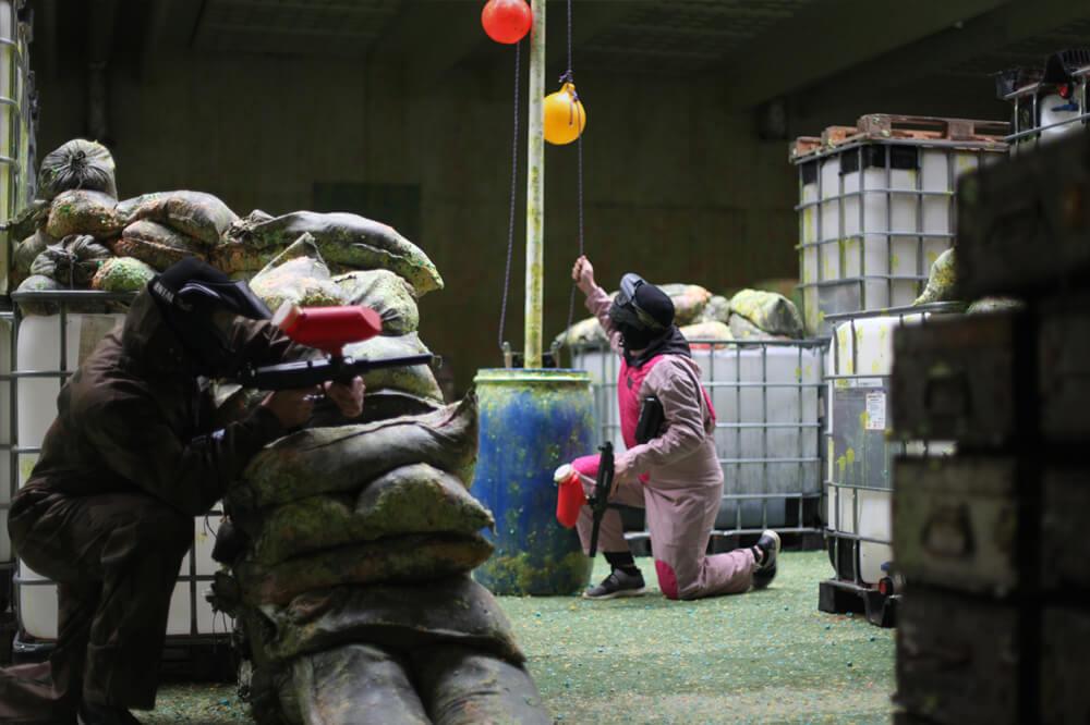 Paintball krig