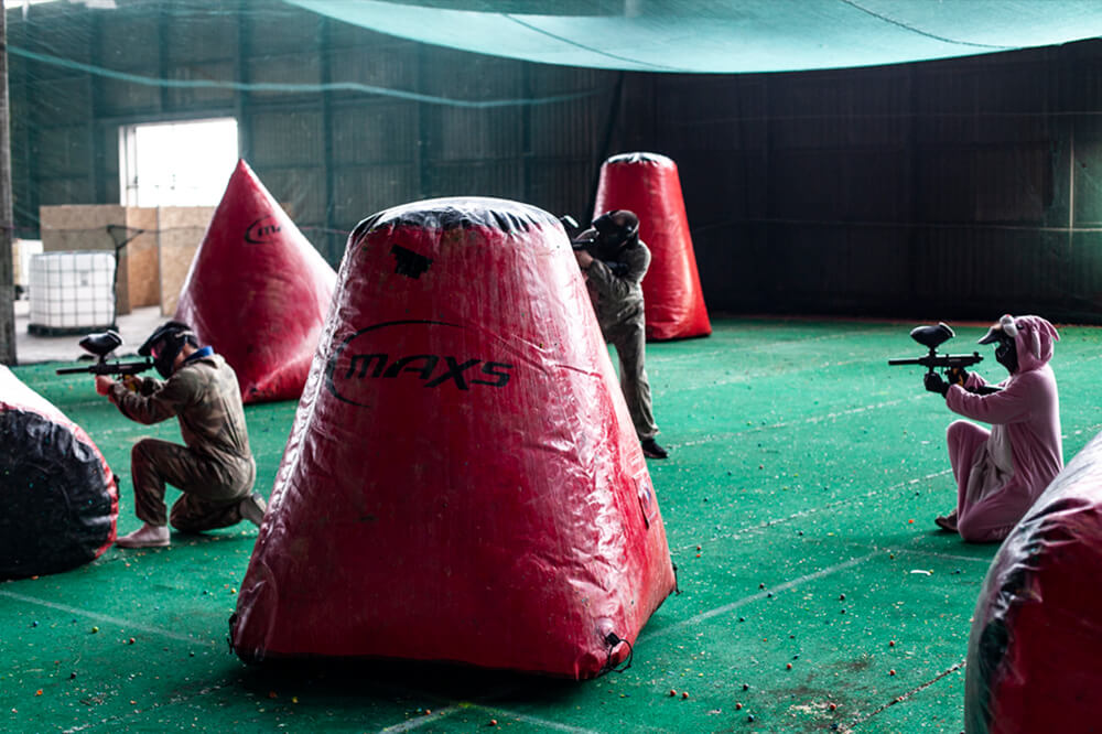 forhindring paintball funcenter
